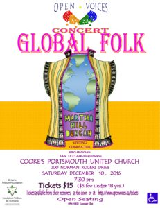Global Folk, Martha Hill-Duncan